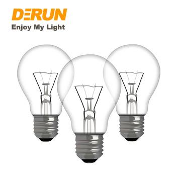 25w 40w 60w 75w 100w E27 B22 Clear Frosted Glass Light Bulb  Incandescent,Inc-a55 - Buy Light Bulb Incandescent,Frosted Bulb  Incandescent,E27 Clear