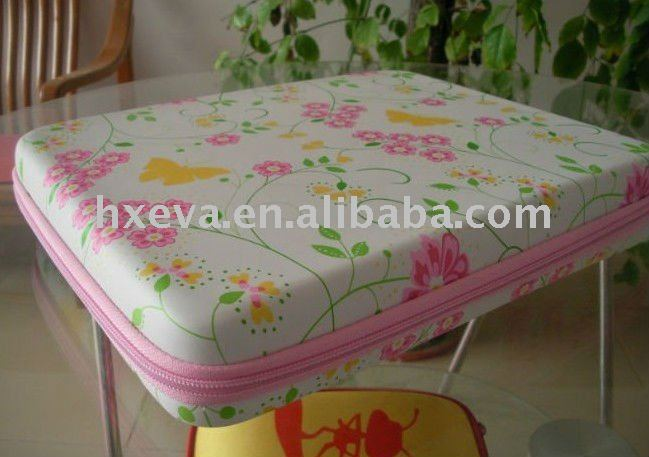 Promotion high quality colorful EVA beauty cosmetic case/cosmetic packing case