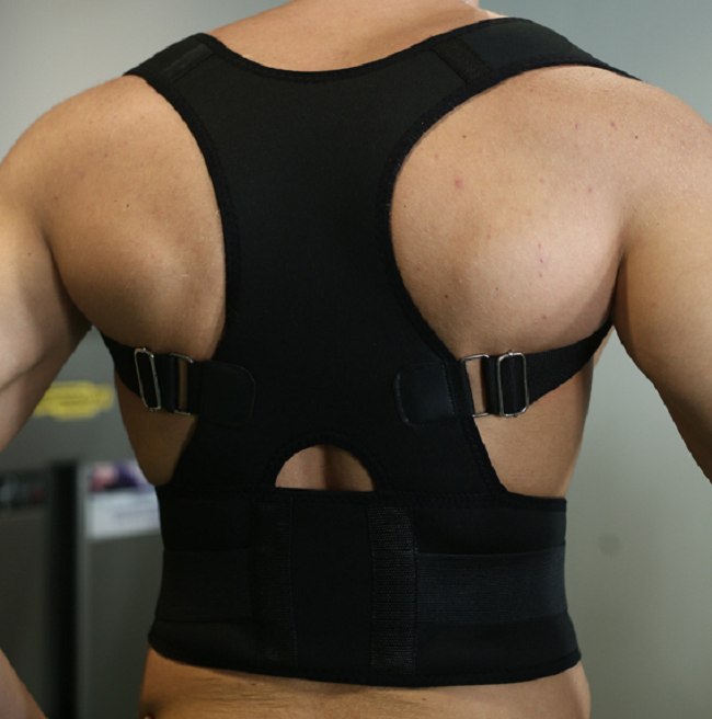 2018 Best Selling Products Aofeite orthopedic magnetic therapy back posture corrector for scoliosis, Black;white;pink.