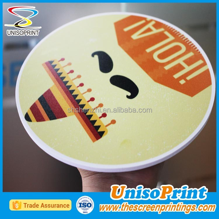 uv flat bed printing for advertising board