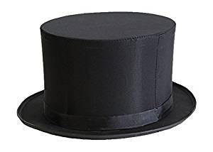 Beistle 60646 Magic Top Hat, Black