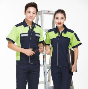 Wholesale Cheap Summer Season Mens Uniform Construction Work uniform