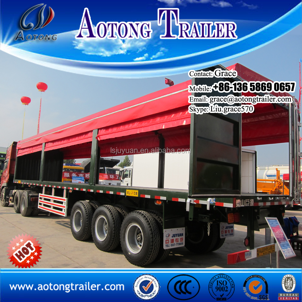 Curtain Side Trailers Supplieranufacturers At Alibaba Com