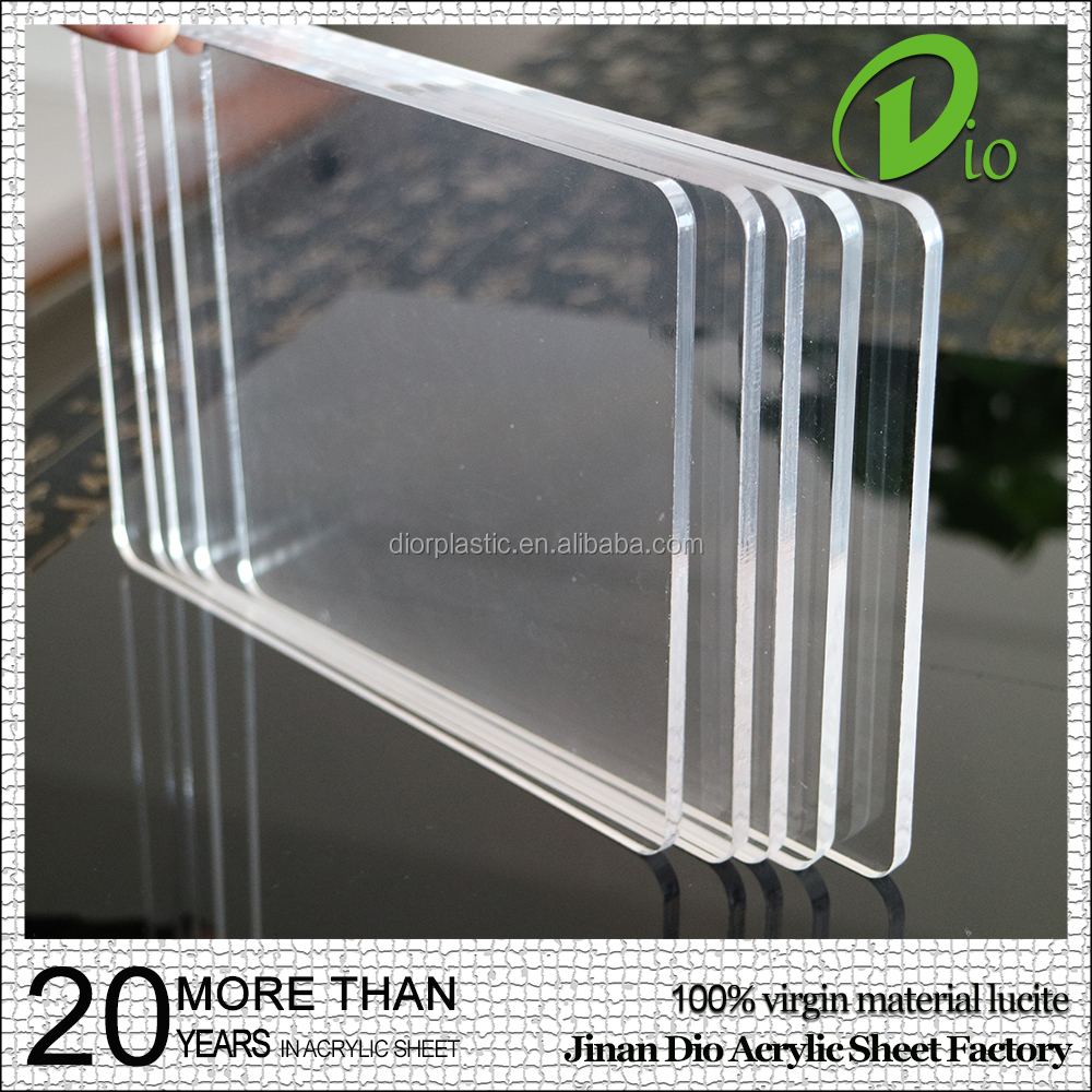 resin pmma plastic panel producer 7mm acrylic sheets