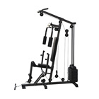 Multi Functional 1-Station Fitness Equipment Home Gym with Chin Up Power Rack