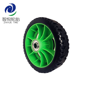 "Wheel 6"" mower plastic wheel/plastic wheels for cabinets/wide plastic wheels for trolleys"