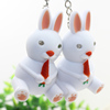 Cute Rabbit LED Keychain with Sound Effect