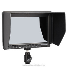 Hot vendas 7 ''IPS LCD 1280x800 ultra fino estabilizador steadicam monitor com Peaking Foco Assist