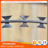 High Zinc Coating Galvanized Concertina Razor Wire Barb Wires