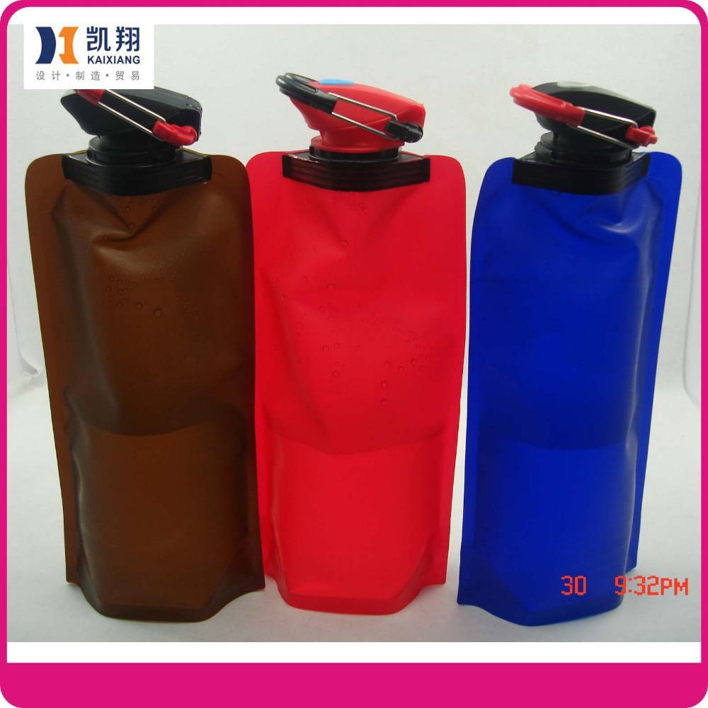 2014 promotional gift folding water bag eco friendly sports blander bottle 30pcs per lot travel. Black Bedroom Furniture Sets. Home Design Ideas