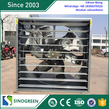 Poultry Farm Equipment Galvanized Frame centrifugal exhaust fan since 2003