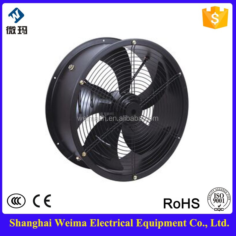WEIMA Easily Installing 450mm Axial Fan For Chiller Evaporator Condenser