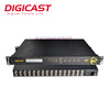 Cable TV Equipment IP Video Decoder 16 Channel Professional Satellite Receiver DVB-S/S2