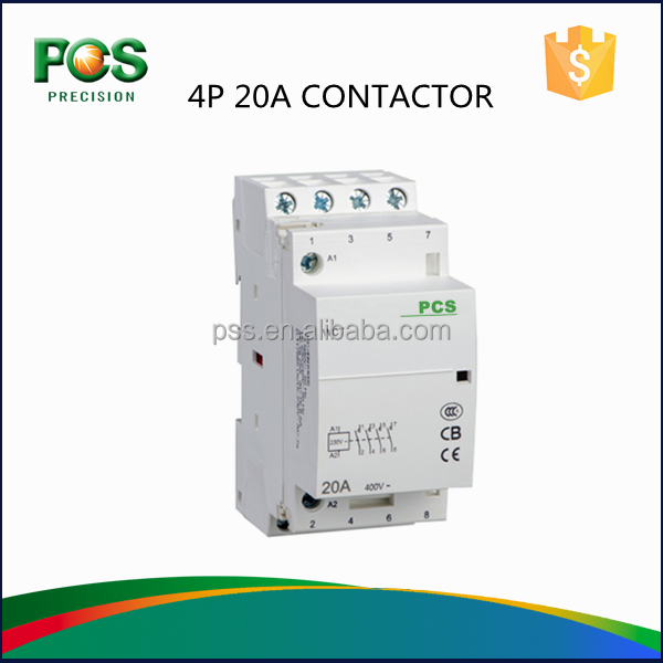 GXPRECISION 3 phase 4 Pole 20A Contactor