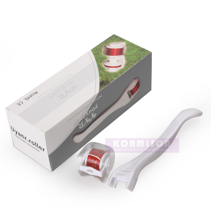 China CE and Rohs certificate derma roller skin vibrating derma roller
