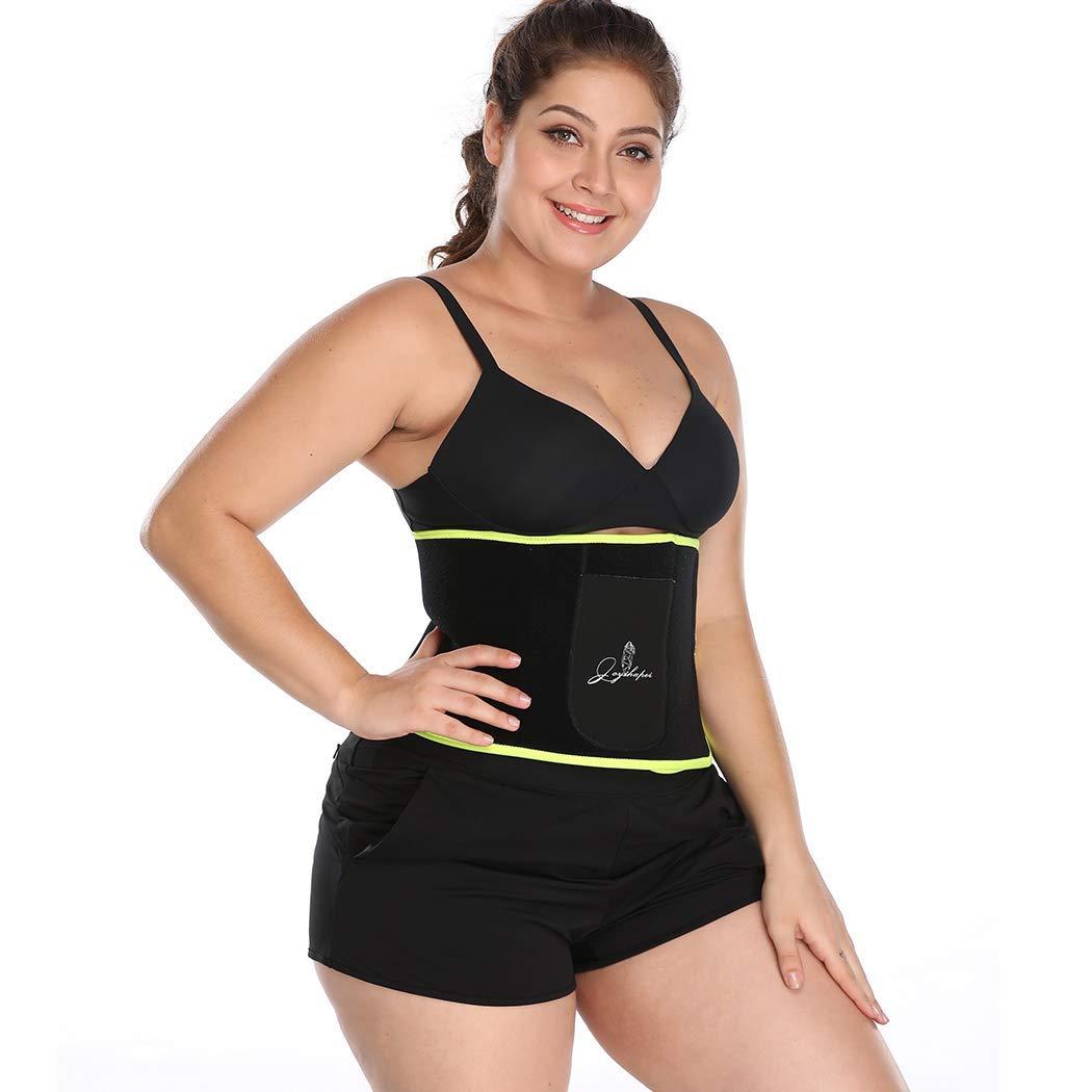Joyshaper Waist Trimmer Belt for Women,Waist Cincher Trimmer Weight Loss Belt with Pocket