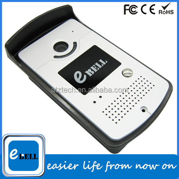 ATZ eBELL New Invention Products 720P Long Range Wireless Video Intercom IP Doorbell for Apartment