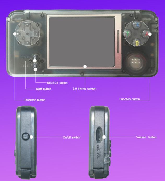 Portable Spielkonsolen Videospiele Rs-97 Retro Handheld Spielkonsole Tragbare Mini Video Gaming Spieler Mp4 Mp5 Wiedergabe Eingebaute 1151 Kindheit Spiele