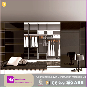 High Quality Space Saving Furniture Almirahs Designs With Mirror