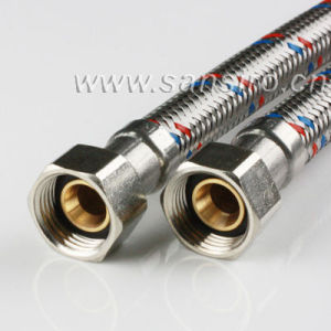 flexible connection pipe, EPDM tube with stainless steel wires braided