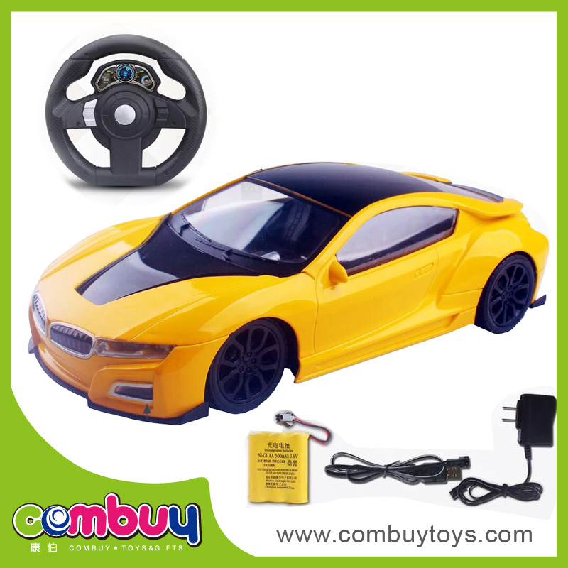 Newest product 1:16 electric steering wheel children toys remote control car