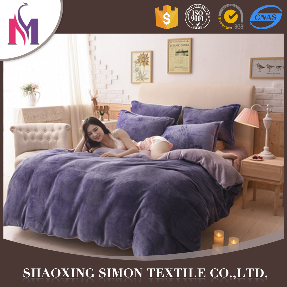 Simon daisy bedding set solid flannel bedsheet handmade indian bedsheets