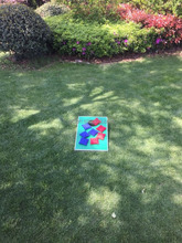 MINI outdoor bean bag toss game set kids game