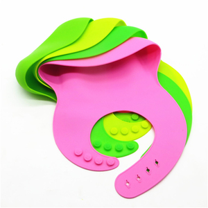 high quality Waterproof Silicone Baby Bib Soft Cute Bibs for Toddlers Babies