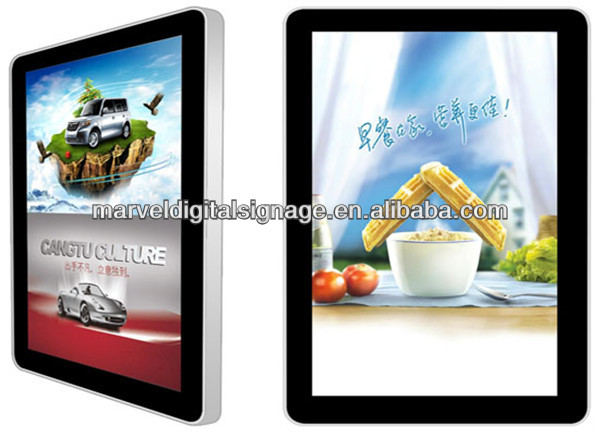 15 inch wall mounted digital lcd ad display for sales promotion ,advertising in restaurant,cafes shops