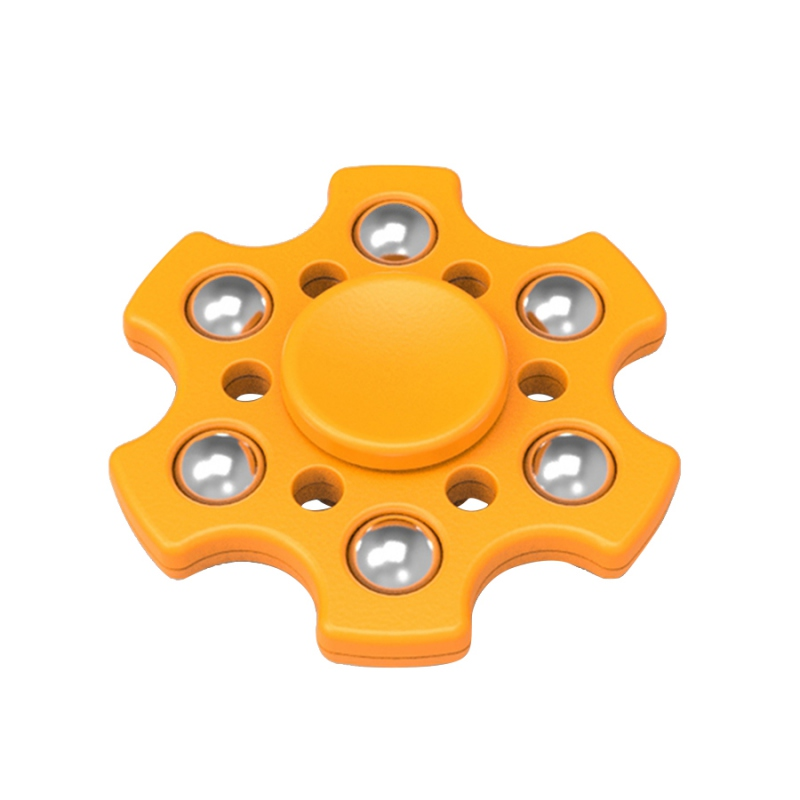 Brand new machine grade finger spinner gold led light for promotion