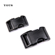 Different Type Black Plastic Adjustable Side Release Belt Buckle Manufacturers,Clip Double Regulating Bag Buckle