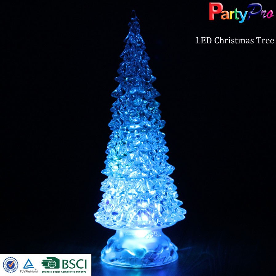 Led christmas tree decoration - Color Changing Led Glass Christmas Tree Color Changing Led Glass Christmas Tree Suppliers And Manufacturers At Alibaba Com