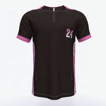 Custom droge fit baseball jersey met <span class=keywords><strong>borduurwerk</strong></span>