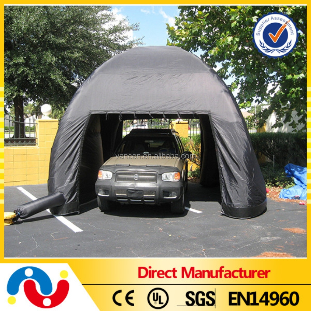 pvc b che portable garage shelter gonflable de voiture garage abri tente portable pliant de. Black Bedroom Furniture Sets. Home Design Ideas