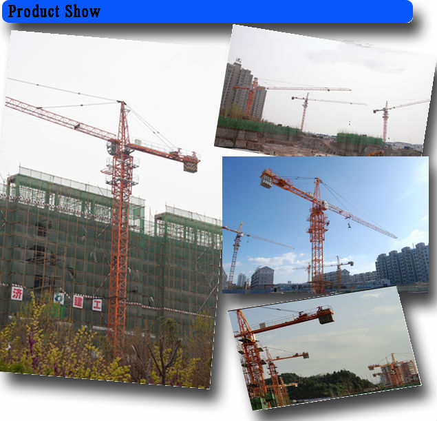 6T crane tower for construction
