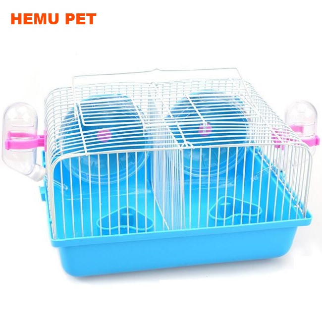 2017 hemu chinchilla hamster cage with sleeping platform pet ferrets for sale