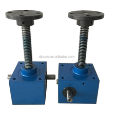 Worm gear mini screw jacks which have load capacity of 120ton