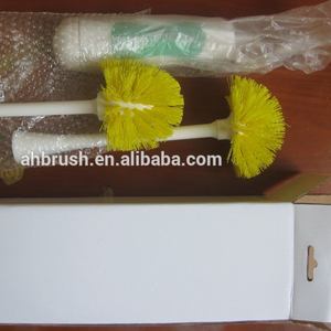 dismountable electric plastic handle toilet cleaning brush