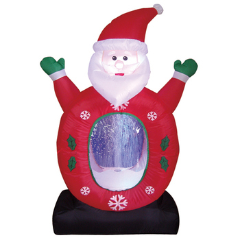 Santa Claus Lowes Christmas Inflatable Decoration