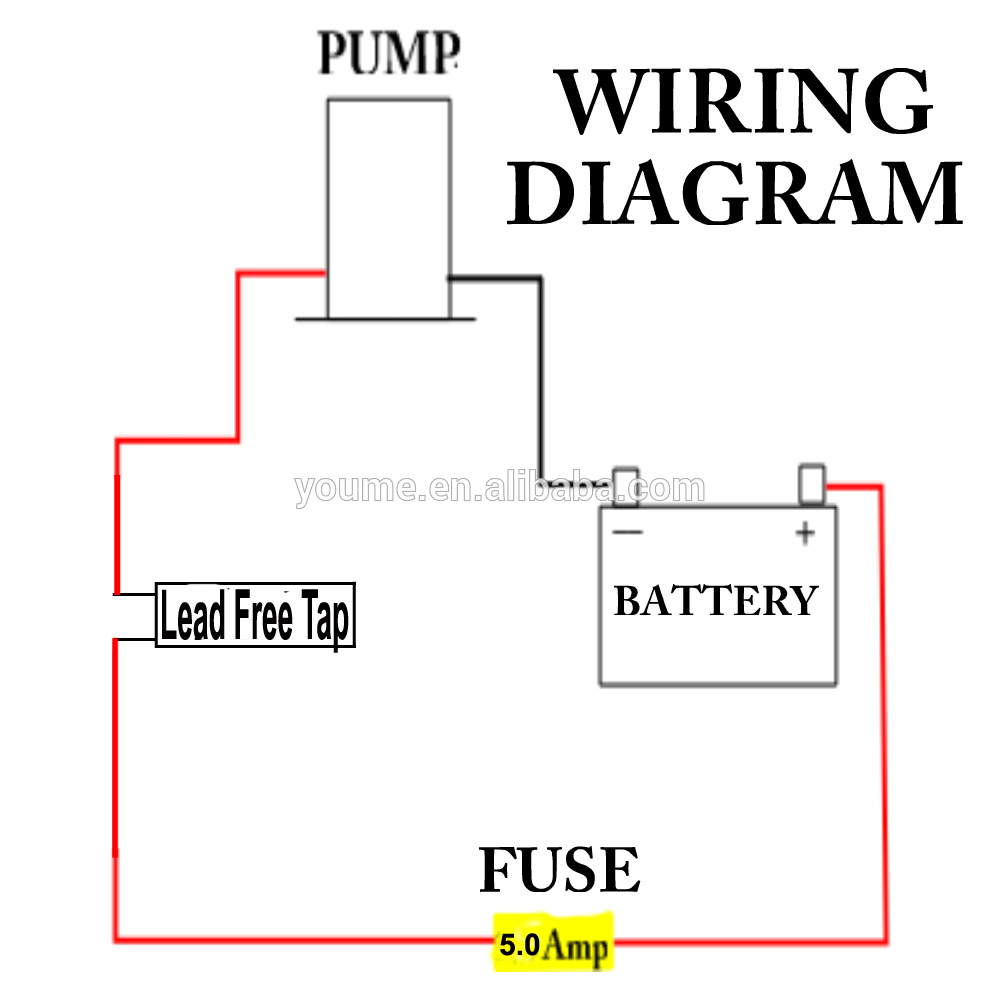 electric water pump wiring diagram singflo faucet tap with switch/12v galley electric water ... fw water pump wiring diagram
