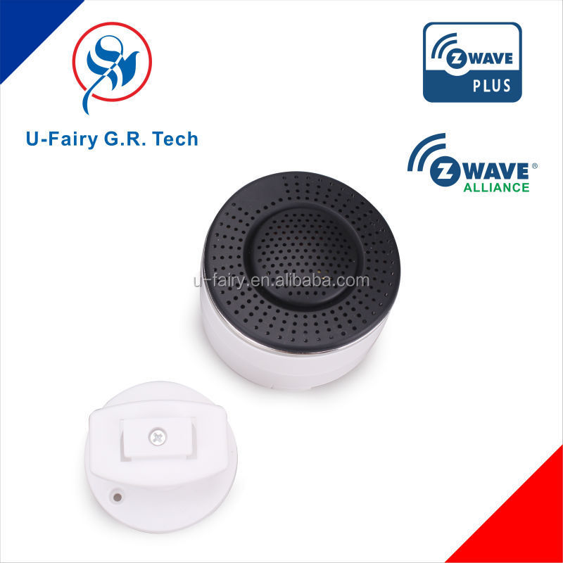 Quick response city 2014 top sale z-Wavewireless smoke alarms