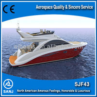 SANJ SJF43 Luxury Yacht with price for sale--High Quality North America Style