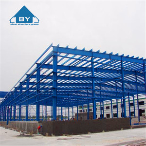 China Supplier Prefabricated Standard Steel Structure Warehouse Workshop Steel Workshop