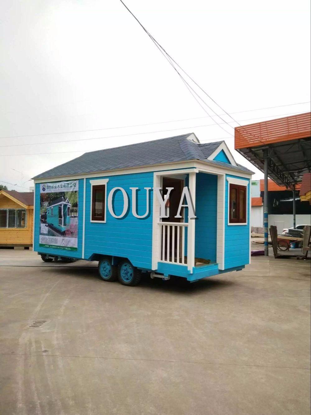 2017 beliebten fertig tiny haus auf r dern mobile werkstatt anh nger faltbare haus caravan f r. Black Bedroom Furniture Sets. Home Design Ideas