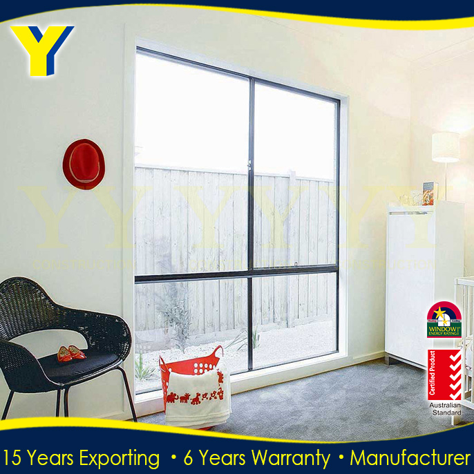 Australian standard aluminum fixed blind window comply to AS/NZS2047 AS/NZS2208 & AS/NZS1288