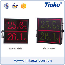 Tinko display time clock temperature led display function and led clock board TH64A
