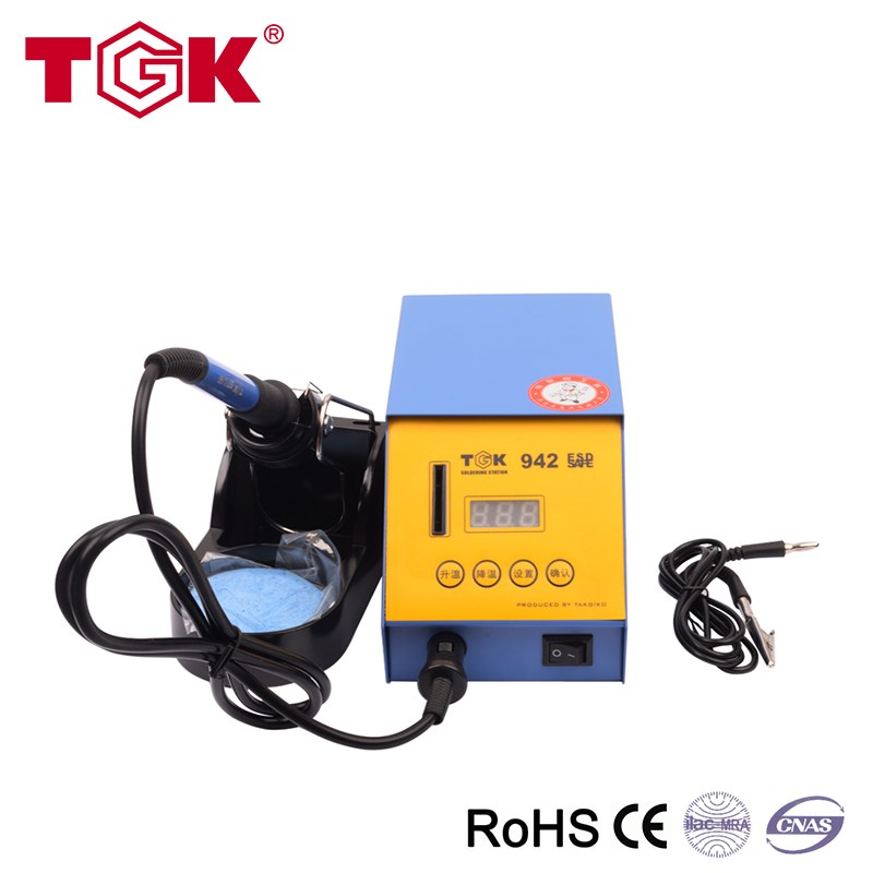 70 Watts Digital Hakko Soldering Rework Station WIth Solder Iron Tips
