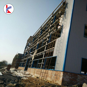 Prefabricated High Rise steel Building Heavy Steel Structure building for School building