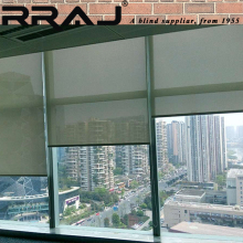 RRAJ Fabric Sunscreen Roller Blind Balcony