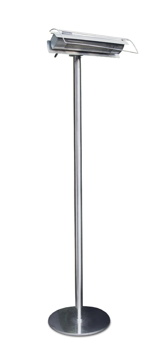 Aura Patio Plus Stainless Steel Weatherproof Radiant Infrared Electric Patio Heater